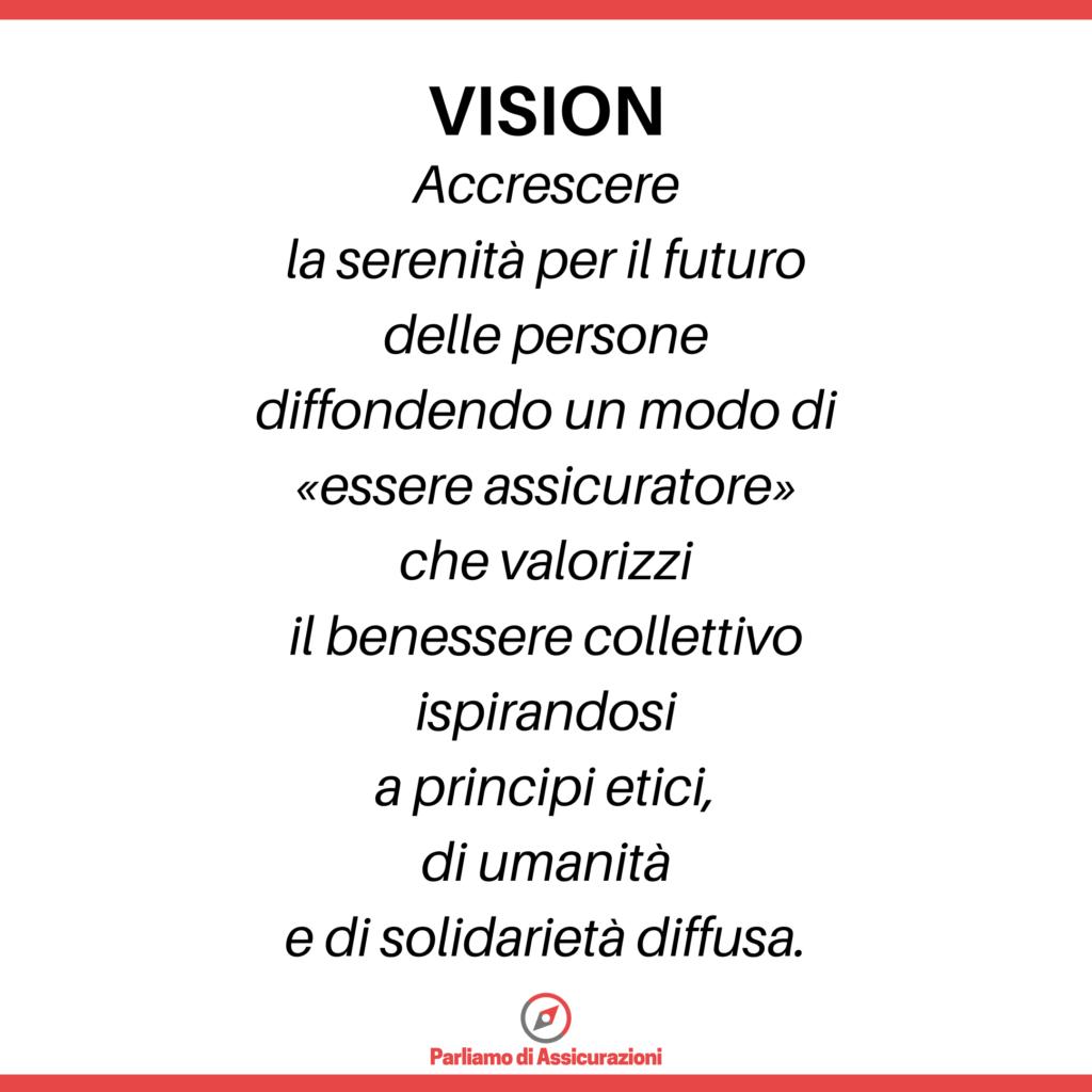 La Vision di Parliamo di Assicurazioni