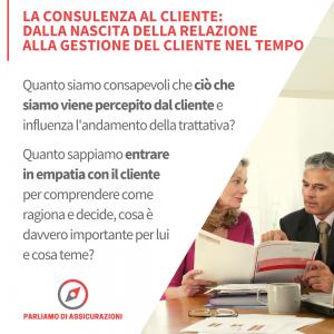 La consulenza al cliente
